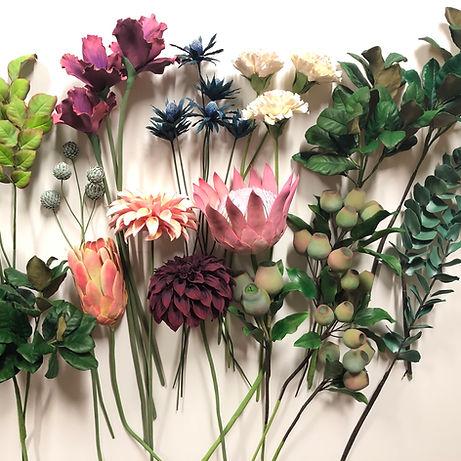 熱帶植物花介 黏土證書課程