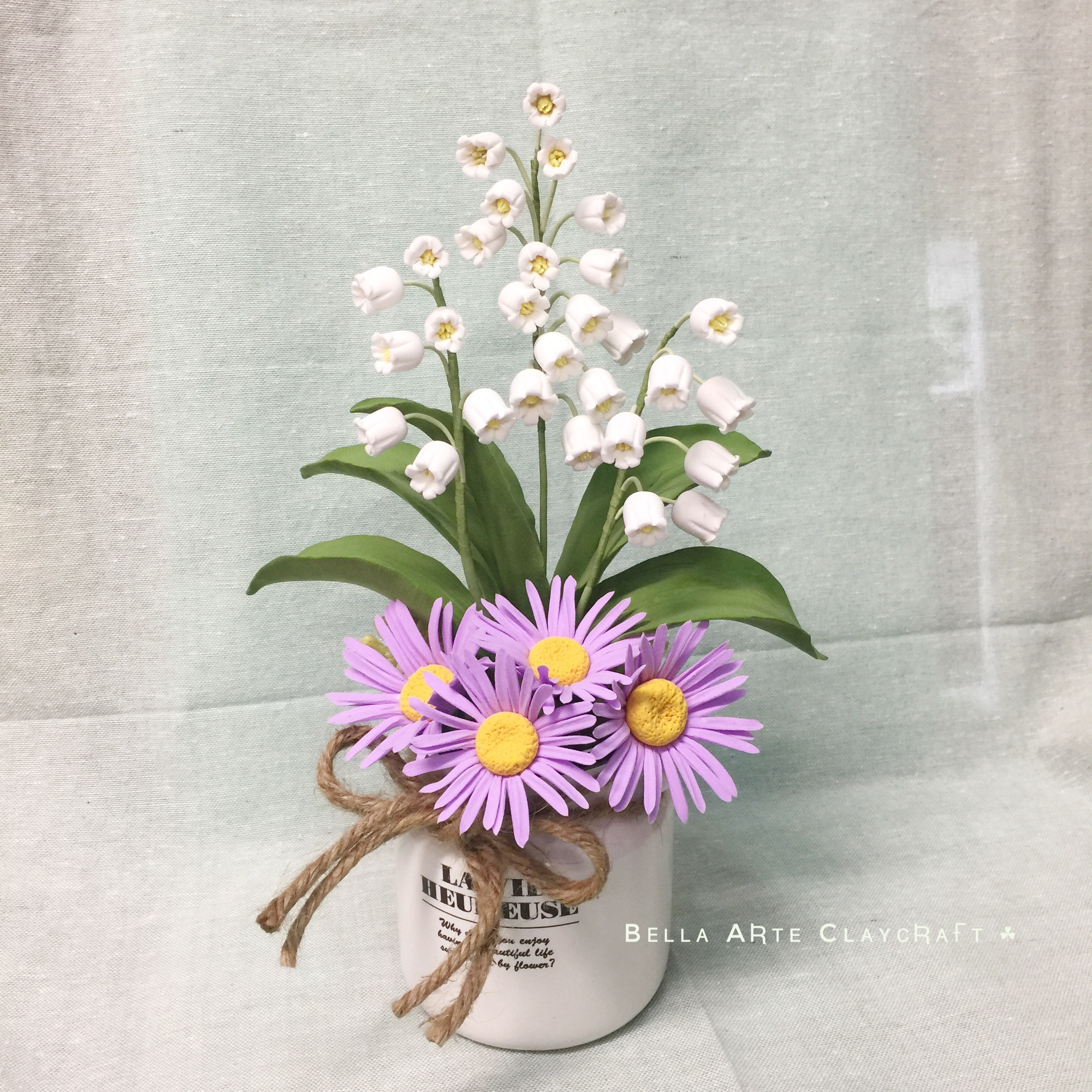 Aster & Lily of the Valley