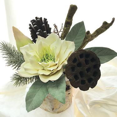 蓮花 盆景擺設 黏土花作品 Decoclay lotus table flowers