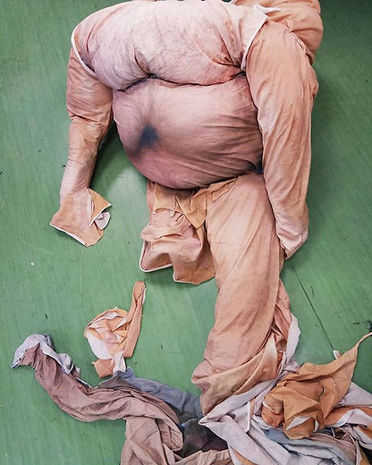 slavna slavna martinovic sartorial unrest expanded sculpture