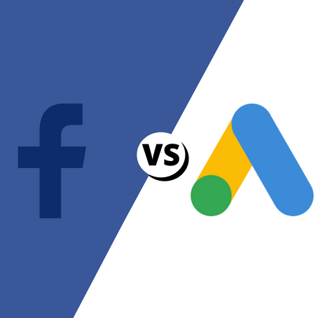 The Battle of Facebook Ads Versus Google Ads