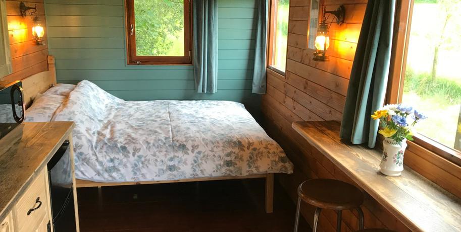 Inside Sheppards Hut