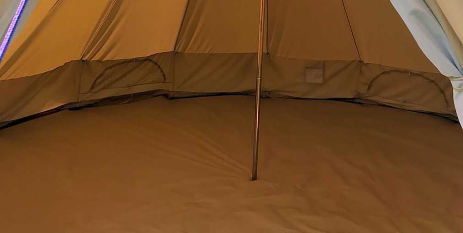 Bell Tent inside