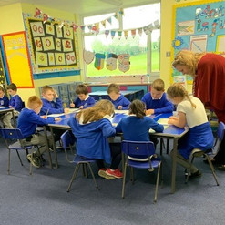 Dowlais Workshop pupils.jpg