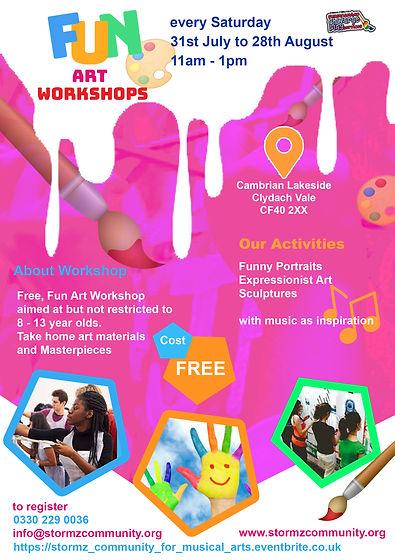 RCTCBC Summer Of Fun Art Workshop 2021 LIVE.jpg