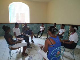 Atelier performance, alliance française de Cap Haïtien, Haïti, octobre 2013