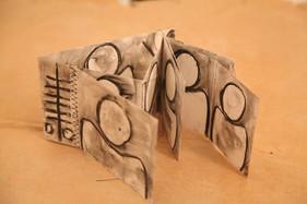 Livre sculpture, ENARTS 2013. Photo Philppe Dodard