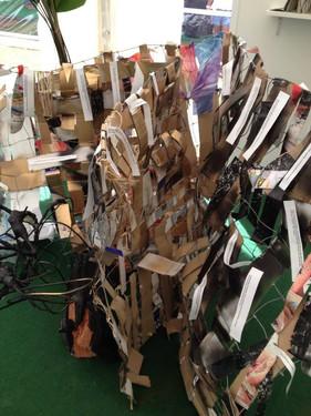Livre sculpture | salon international du livre de Martinique |décembre 2013 | photo Geraldine Entiope