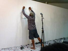 Performance Regards démultipliés, Alliance française de Sainte Lucie, 22 octobre 2013 | photo Vero Bilot