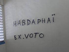 Exposition Ex-voto, Alliance française de Cap Haitien, du 16 AU 21 octobre 2013