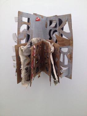 Livre sculpture Habdaphaï | Salon International du Livre 2013 | photo courtoisie de l'artiste