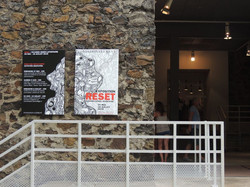 affiche extérieur accueil