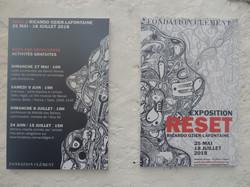 RESET - affiches extérieur