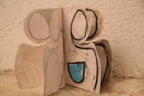 Livre sculpture, exposition ENARTS, octobre 2013, photo Philippe Dodard