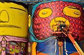 OsGemeos, Mural 3D, Yaletown viewpoint o