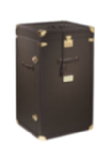 Small trunk for storing shoes, watches, clothes and accessories.