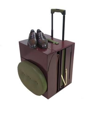 Valise trolley de cirage professionel Yolsé