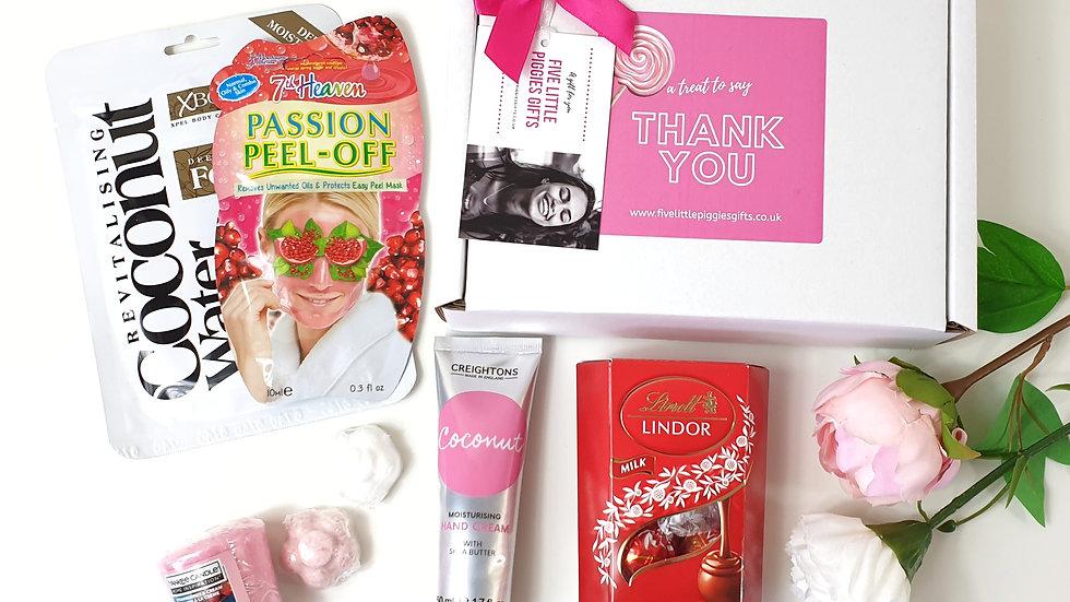 Thank you pamper gift box