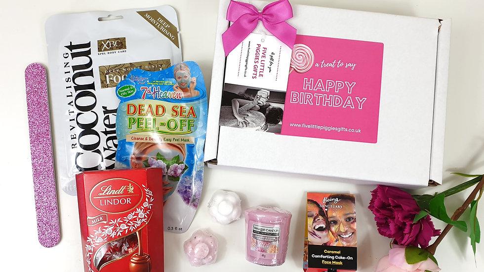 Happy Birthday Pamper Gift Box