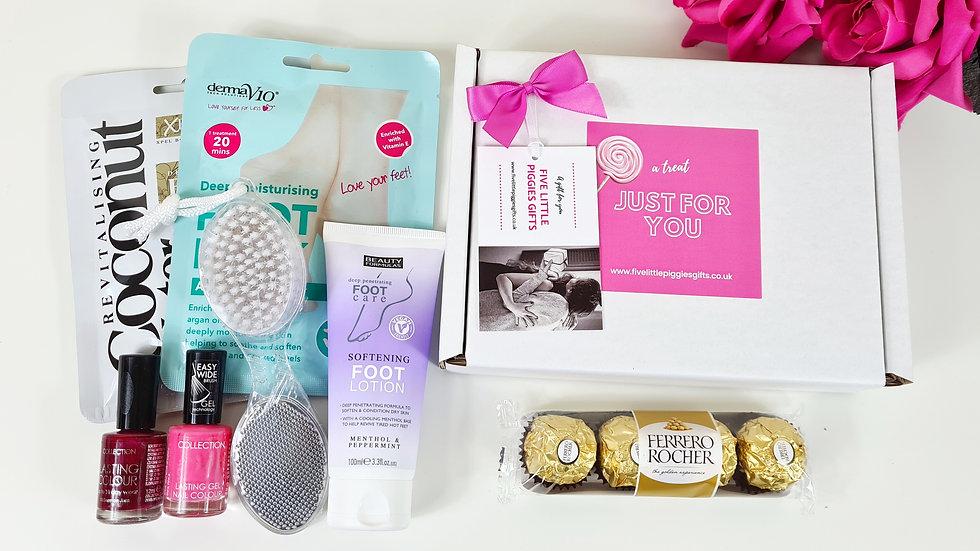 Footcare mini gift box