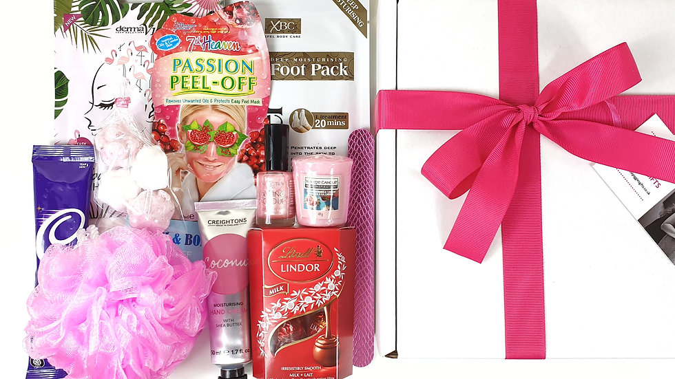Relax and pamper gift box