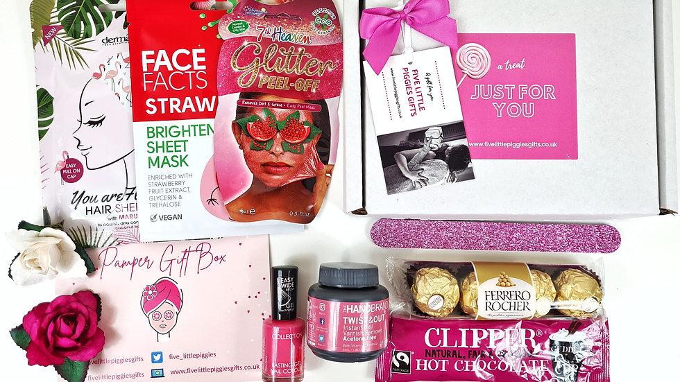 Teen pamper gift box