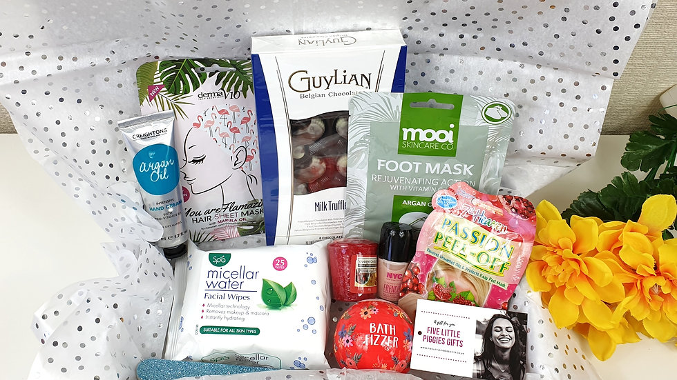 Large surprise pamper gift box