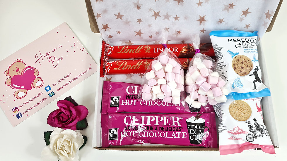 Hot chocolate letterbox gift