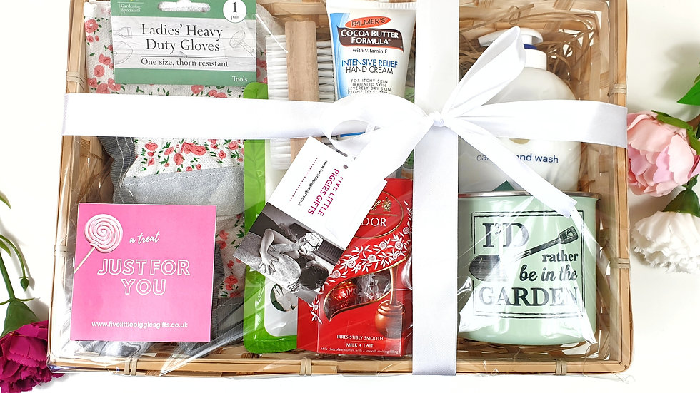 Gardeners delight pamper hamper