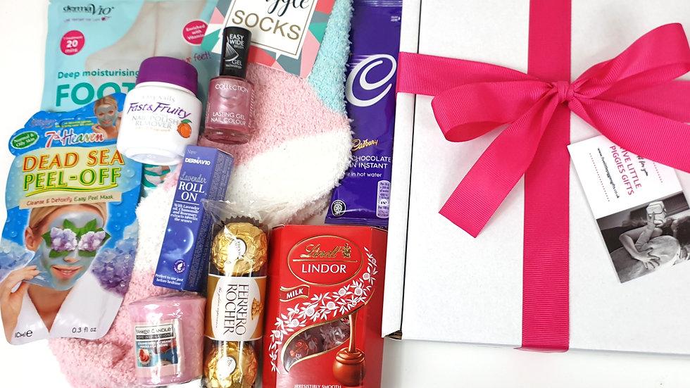 Pamper night in gift box