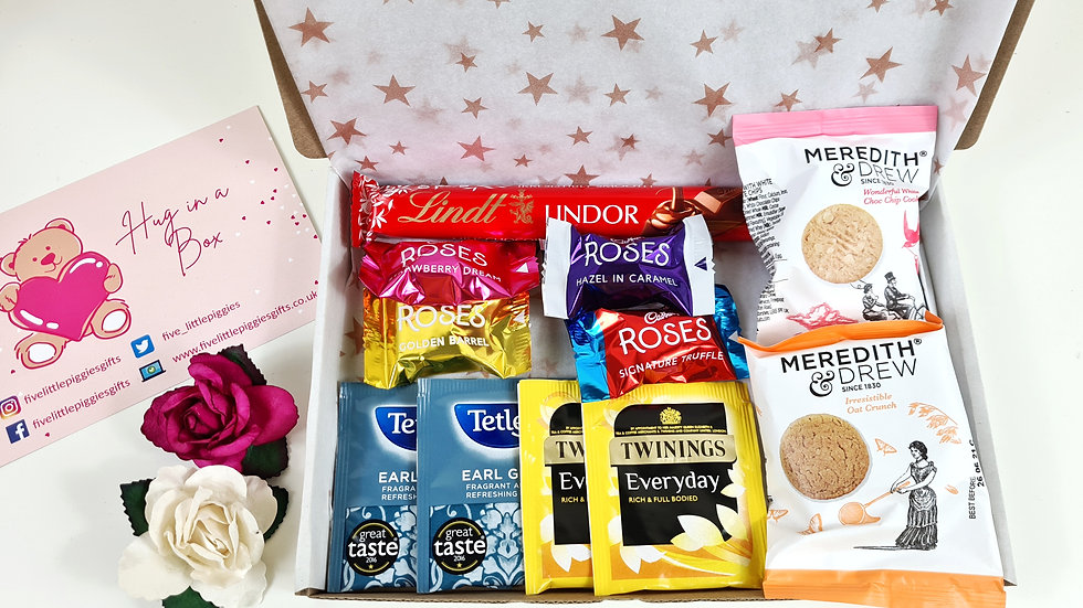Tea time letterbox gift box