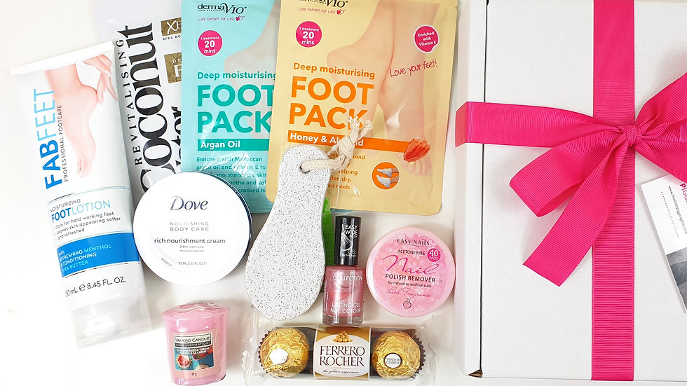 Footcare gift box