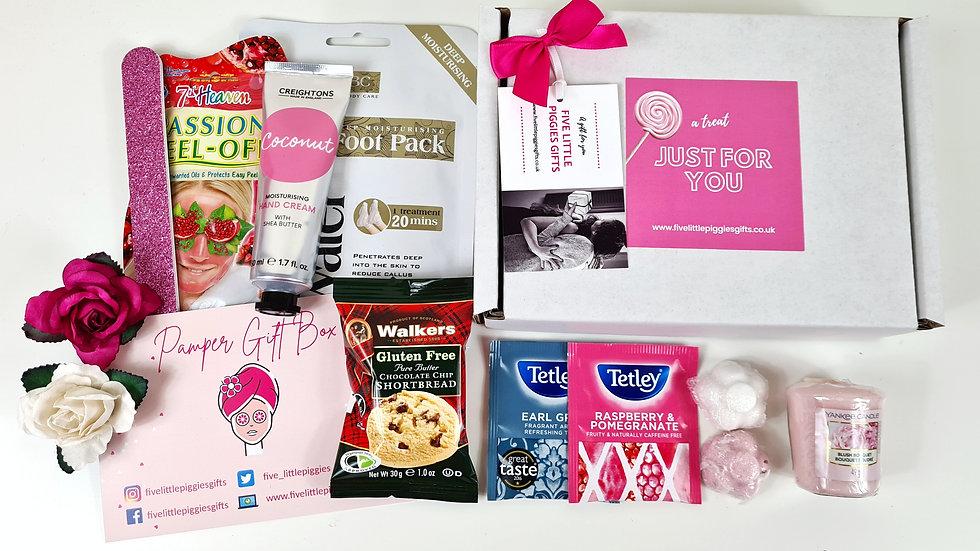 Gluten free pamper gift box