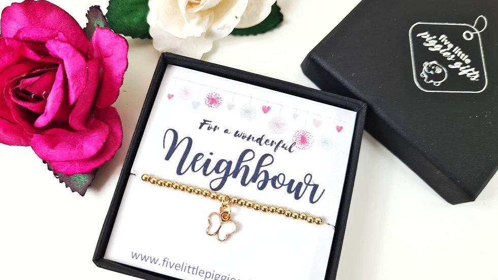 Neighbour gift bracelet