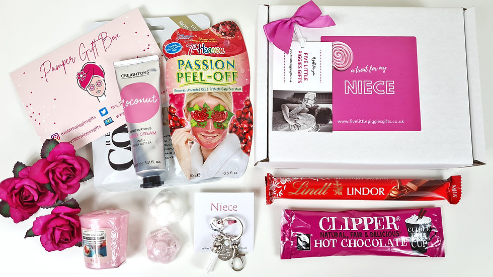 Niece pamper gift box