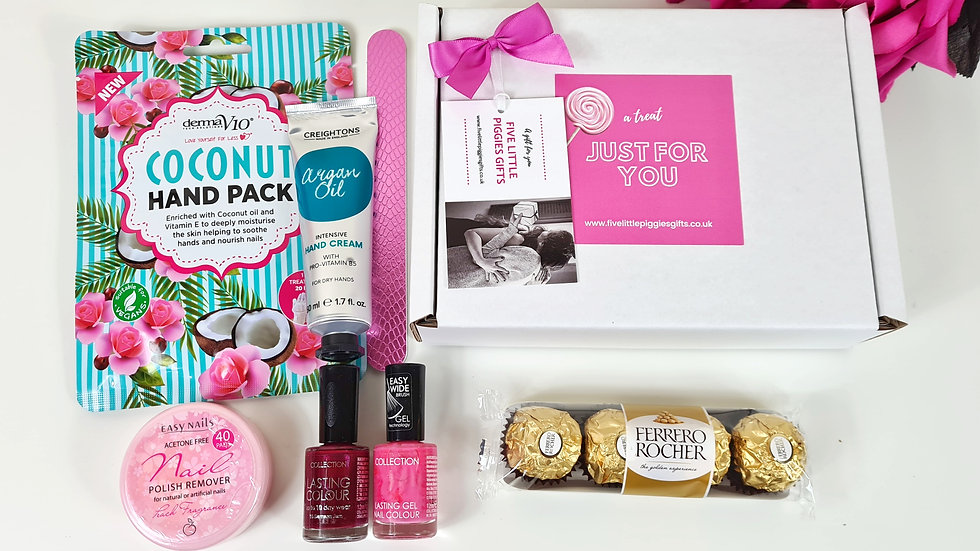 Handcare pamper gift box