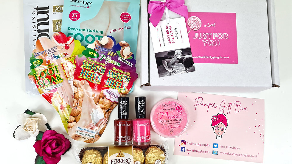 Footcare pamper gift box