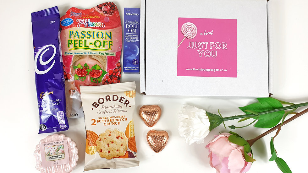 Pamper time letterbox gift