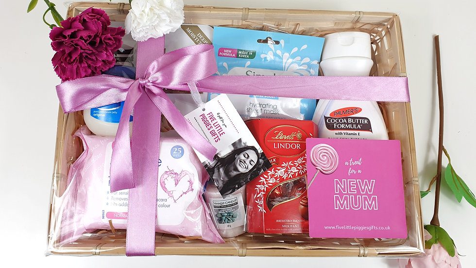 New mum pamper hamper
