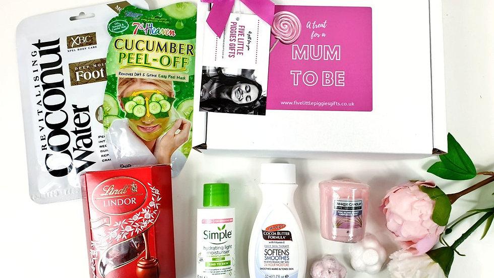 Mum to be mini gift box