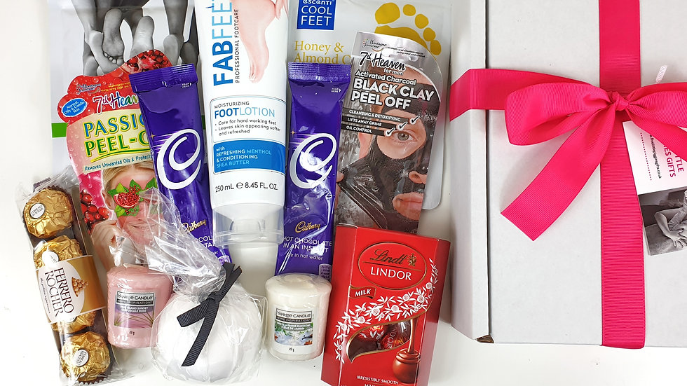 Couple pamper gift box