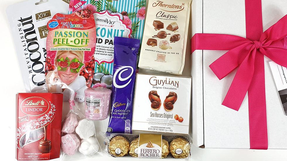 Chocolate lovers pamper box