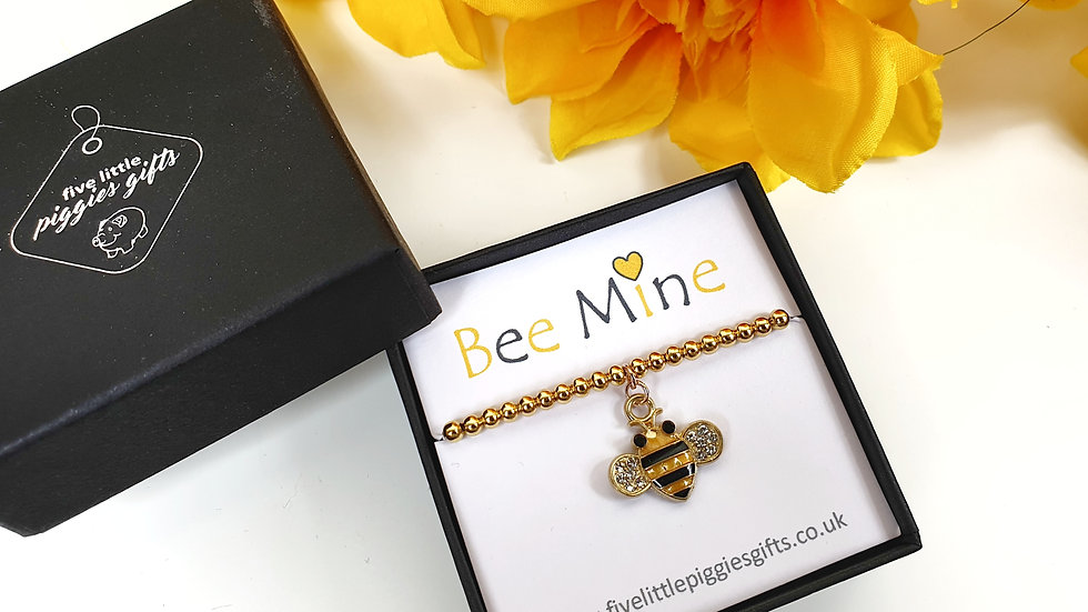 Bee Mine gift bracelet