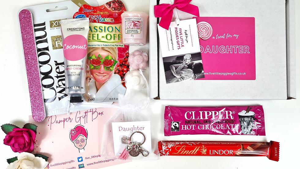 Daughter pamper gift box