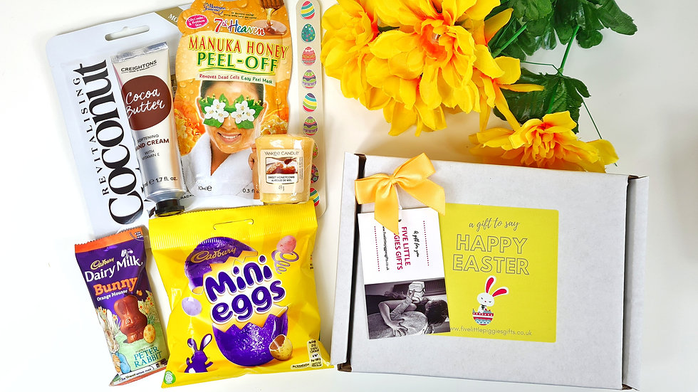 Easter pamper gift box