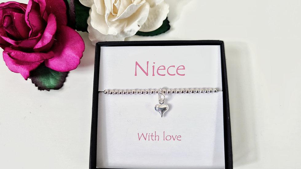 Niece gift bracelet