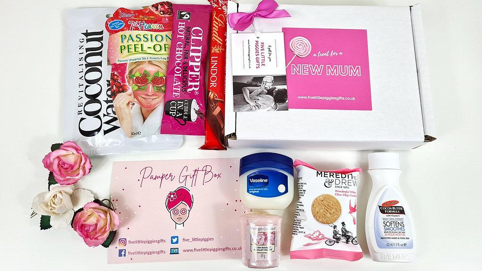 New mum mini pamper gift box