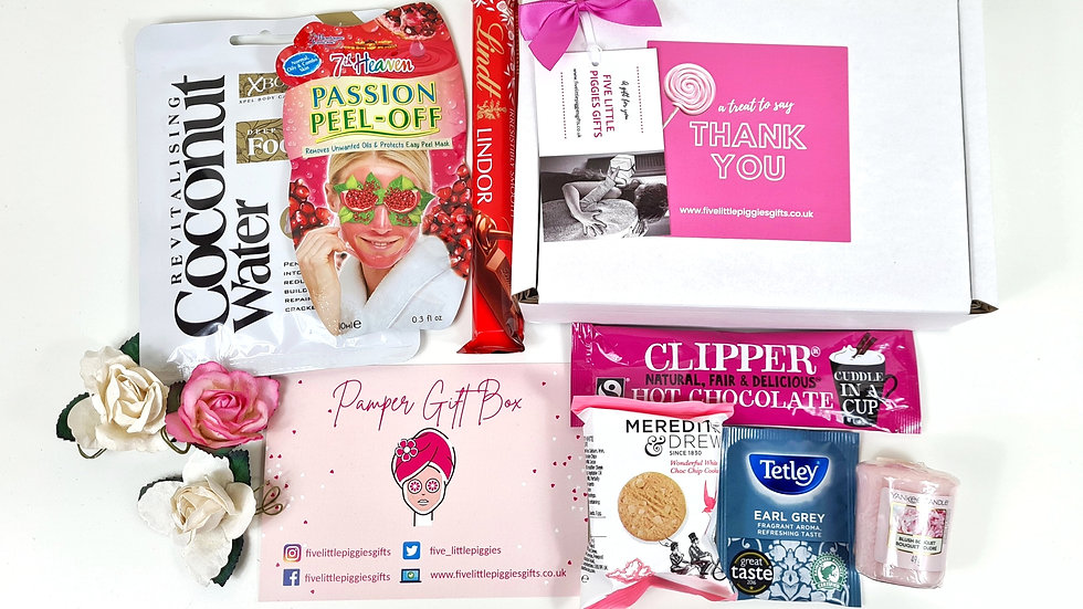 Thank you pamper gift box