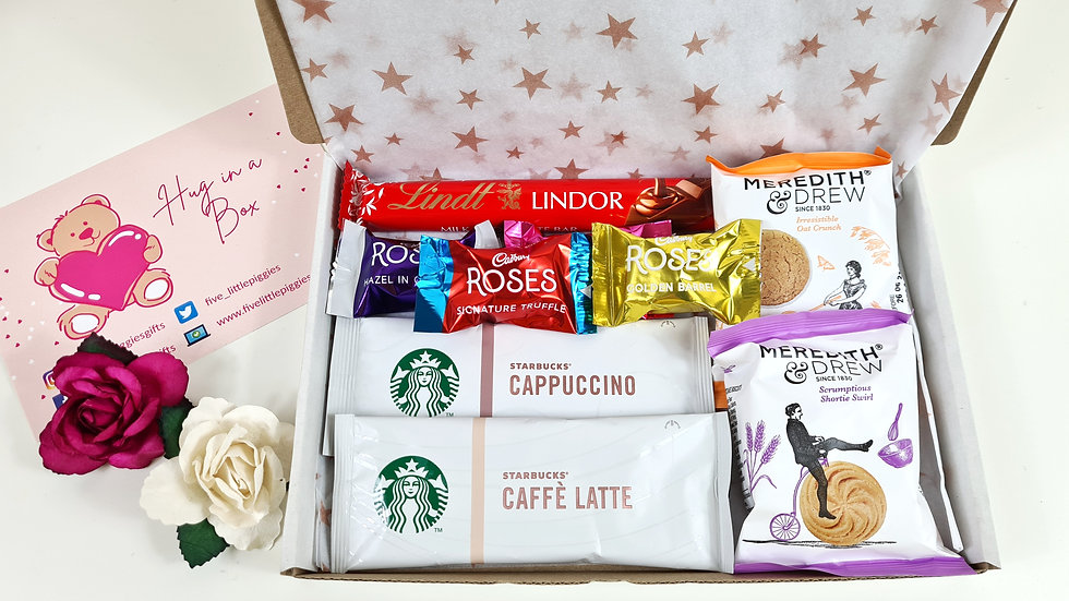 Coffee time letterbox gift