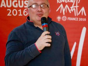 Franck Chekroun, nouveau président de la fédération du Scoutisme Français